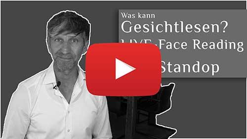 Gesamte Gesichtlesen Sitzung - Sabine - Eric Standop - Face Reading Academy - Read the Face