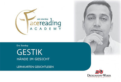 Gestik Lernkarten - Eric Standop - Face Reading Academy - Read the Face