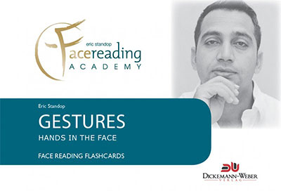 Gestures Flashcards - Eric Standop - Face Reading Academy - Read the Face