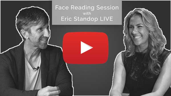 Full Face Reading Session Ramone - Eric Standop - Face Reading Academy - Read the Face