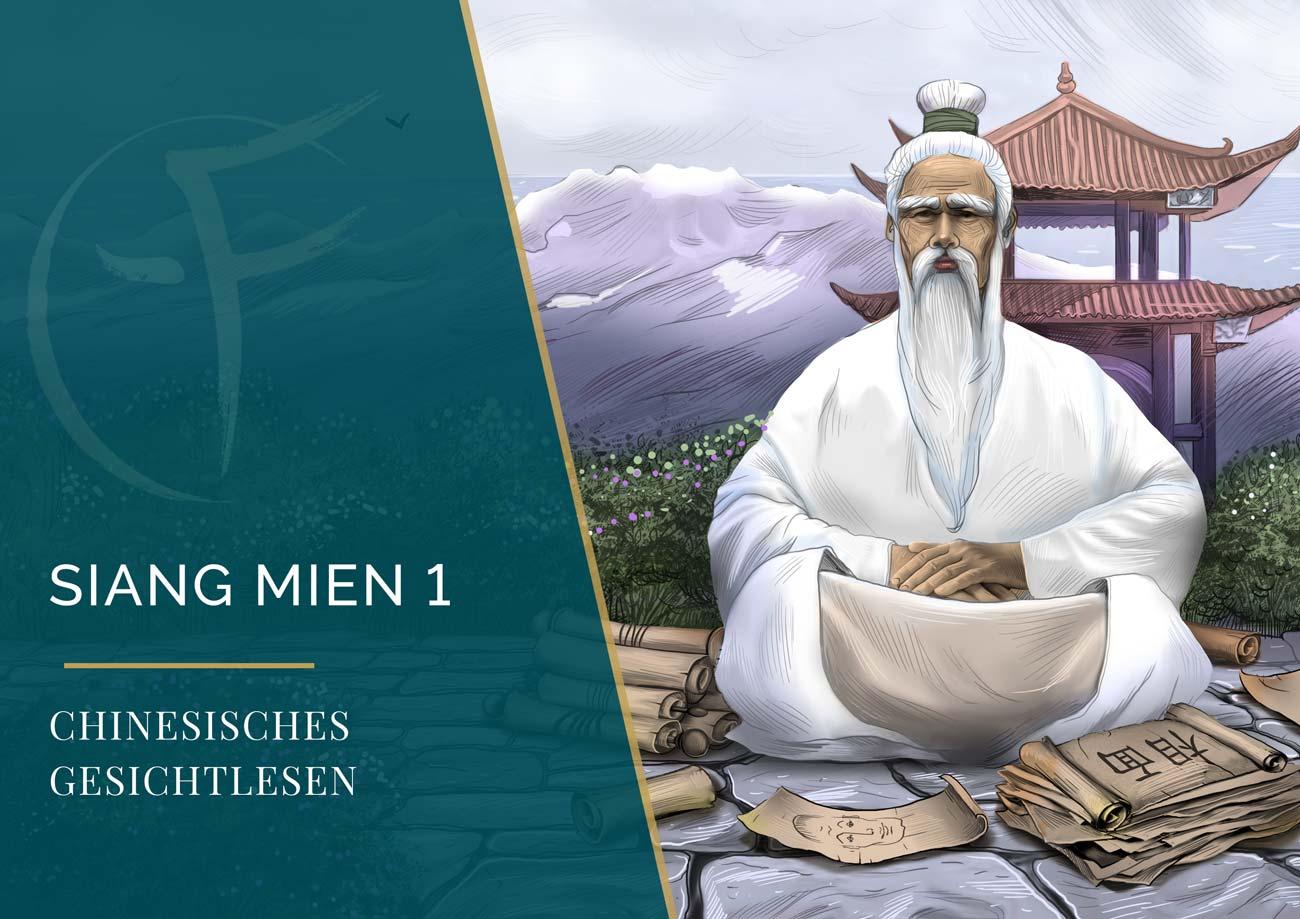 Siang Mien 1 - Chinesisches Gesichtlesen - Ausbildung - Gesichtlesen - Cover Kalendar - Eric Standop - Face Reading Academy - Read the Face