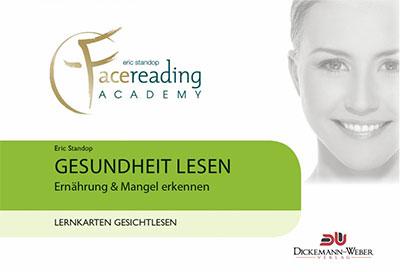 Gesundheit lesen - Ernährung Lernkarten - Eric Standop - Face Reading Academy - Read the Face