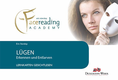 Lügen erkennen Lernkarten - Eric Standop - Face Reading Academy - Read the Face