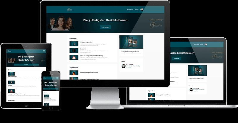 Online Kurs - Responsive - Die 3 Häufigsten Gesichtsformen - Eric Standop - Face Reading Academy - Read the Face