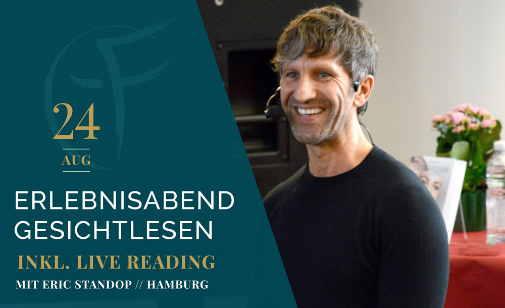 Erlebnisabend - Gesichtlesen - Hamburg - Eric Standop - Face Reading Academy - Read the Face