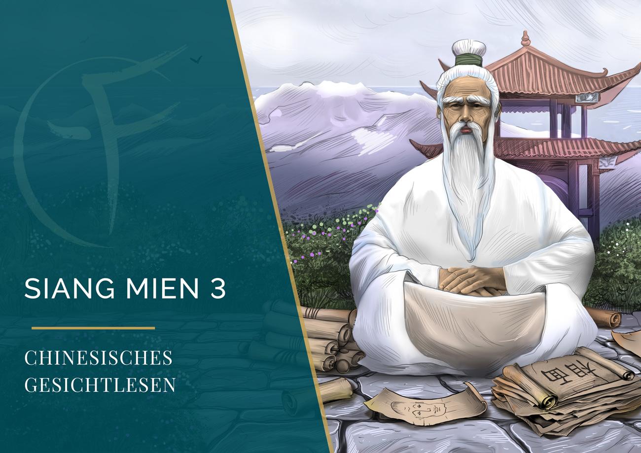 Siang Mien 3 - Chinesisches Gesichtlesen - Ausbildung - Gesichtlesen - Cover Kalendar - Eric Standop - Face Reading Academy - Read the Face